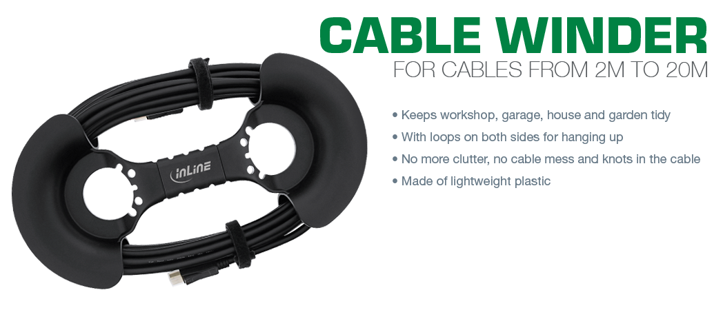 InLine Cable winder