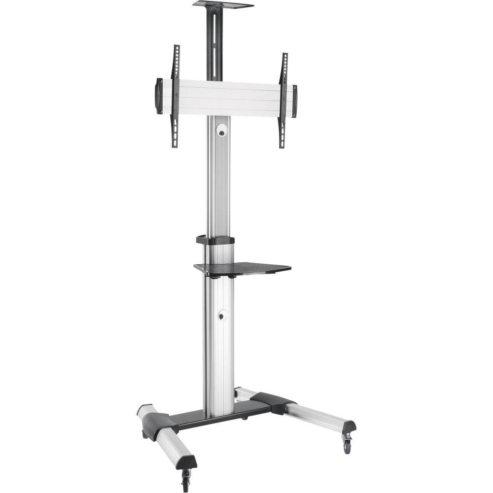 InLine® Carrello per TV, altezza modificabile, per LED-TV 37''-70'' (94-178cm), fino a 50kg