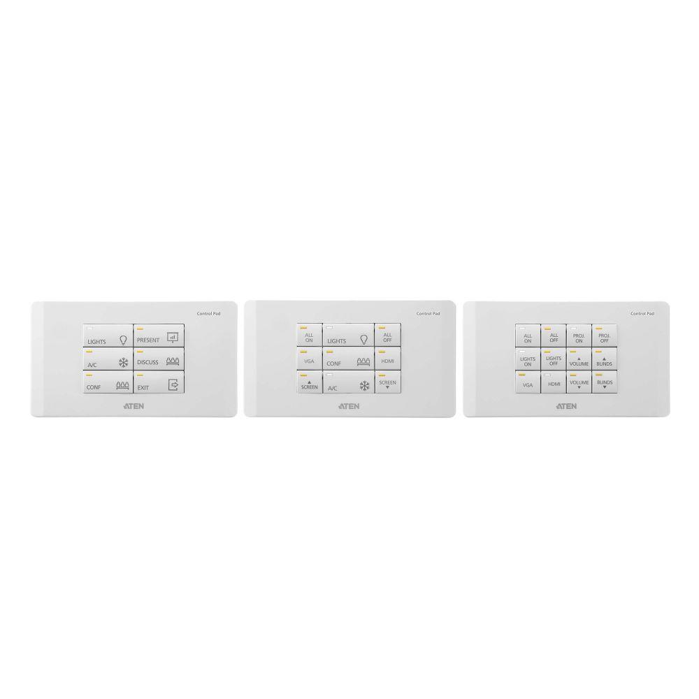 ATEN VK112EU Sistema di controllo ATEN - Tastierino a 12 pulsanti (UE, 2 gruppi)