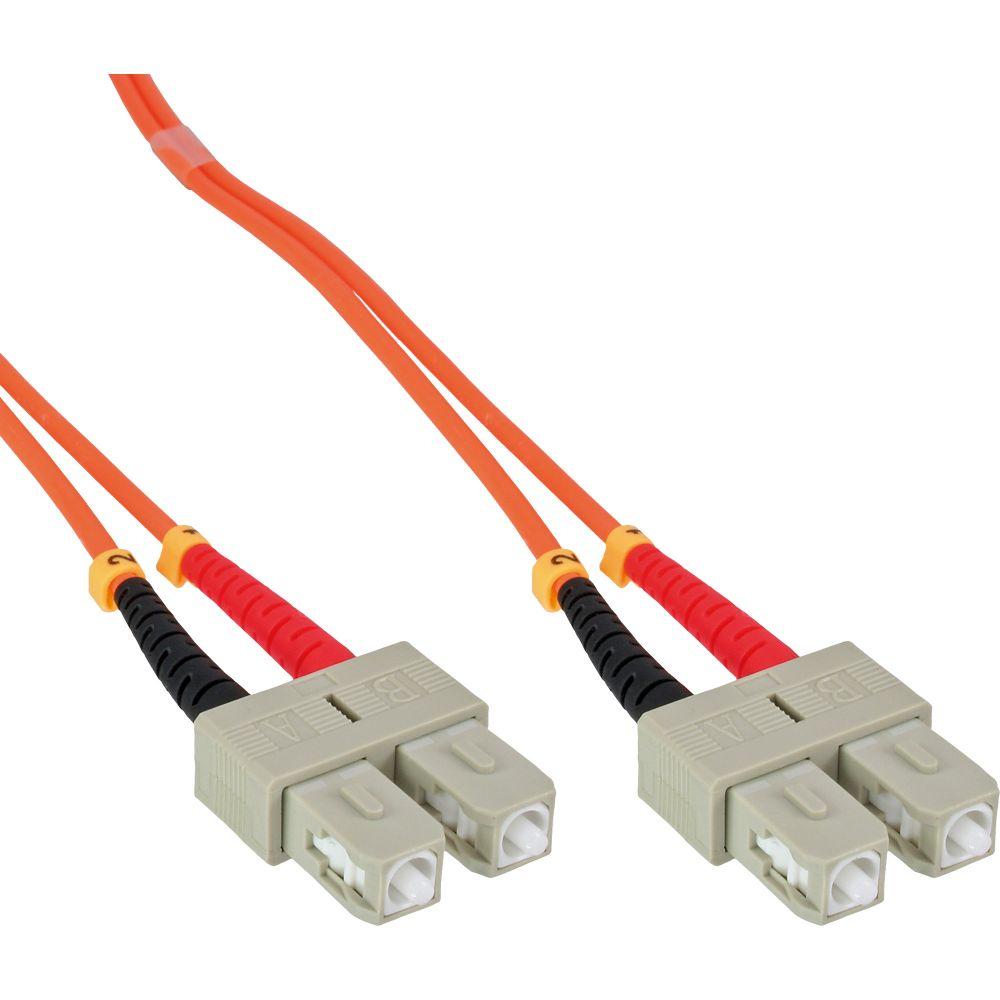 InLine® Cavo Duplex, SC/SC 50/125µm, Fibra Ottica OM2, 15m