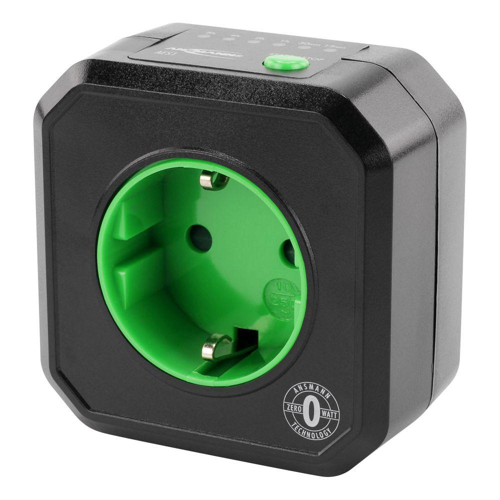 Standby Killer ZeroWatt, Timer risparmio energetico, sconnessione automatica apparecchi in modalità standby (Ansmann AES1 5024063)