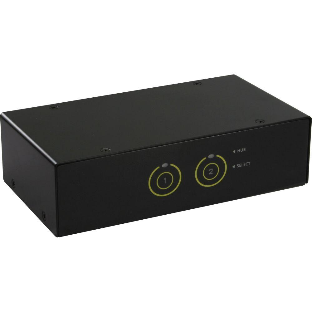 InLine® KVM Switch, 2 porte, USB 3.0 HDMI Audio, FullHD, Hub 2x USB 3.0, Kit cavi inclusi