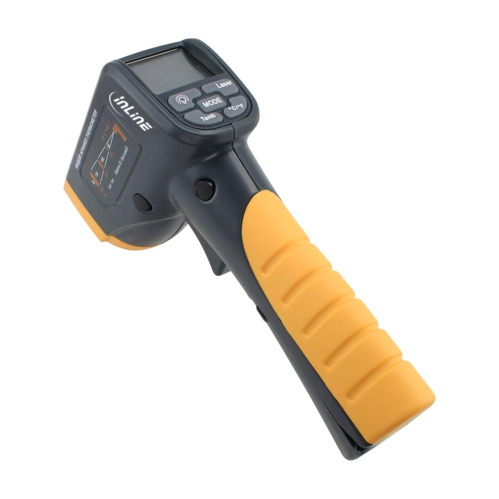InLine® Misuratore digitale di temperatura con sistema di rilevazione mediante infrarossi ( senza contatto con la superfice)