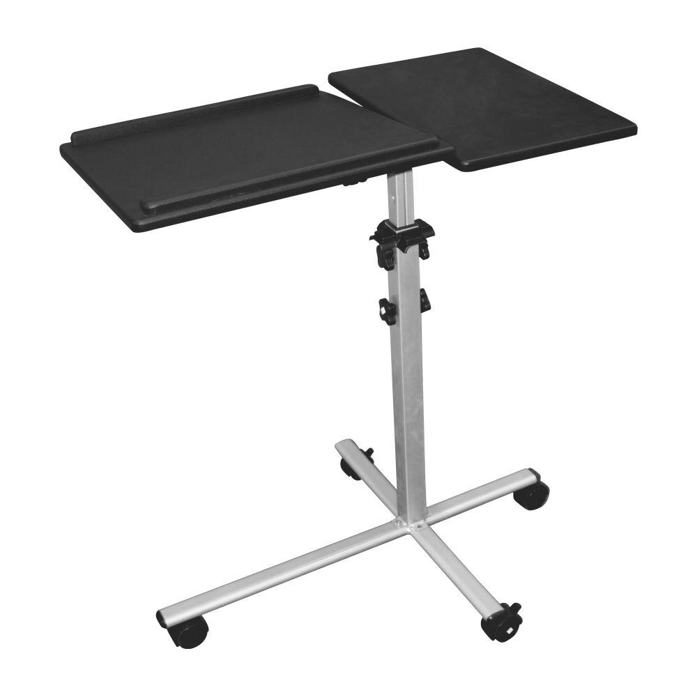 InLine® Carrello Supporto Videoproiettori e Notebook, altezza 70-90cm, portata 10kg