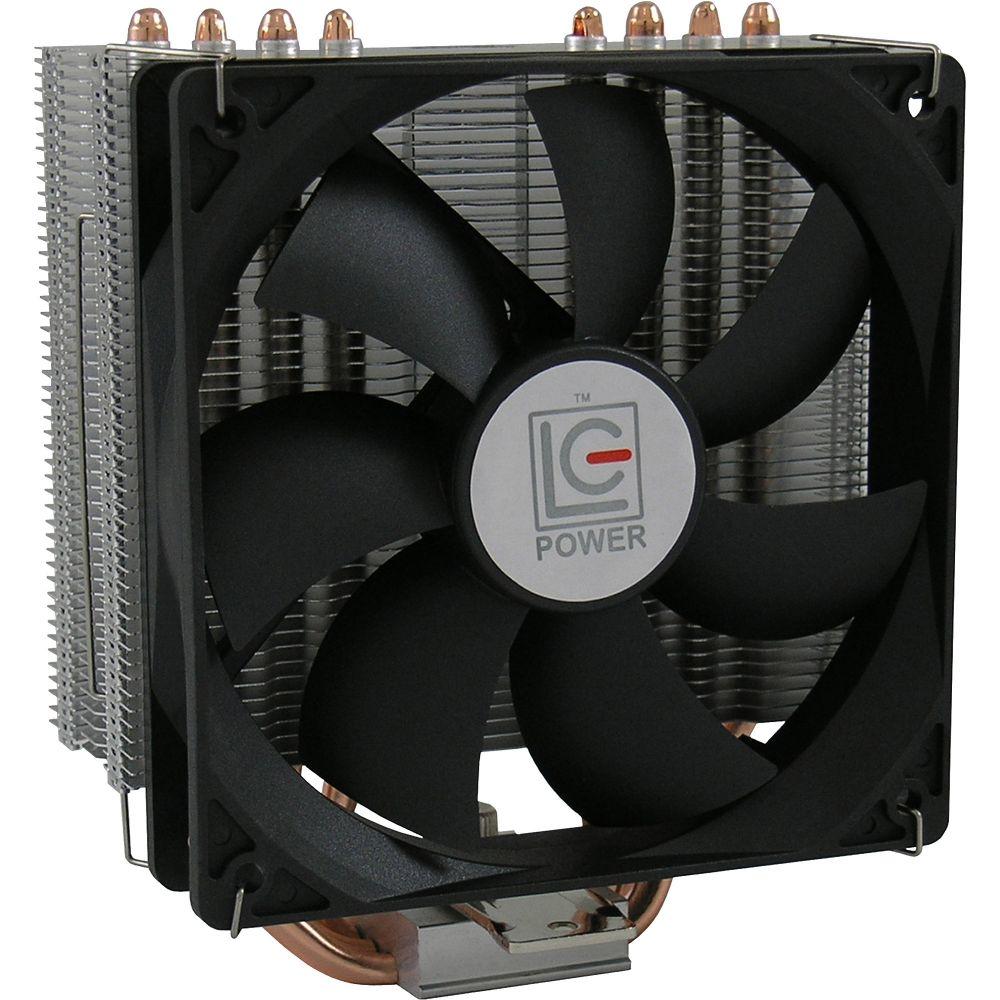Dissipatore CPU Cooler per Intel & AMD, Max 180W, LC-Power Cosmo-Cool LC-CC-120