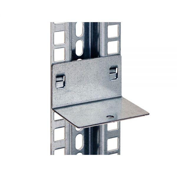 Staffe supporto mensole carichi pesanti per montante for Staffe per mensole