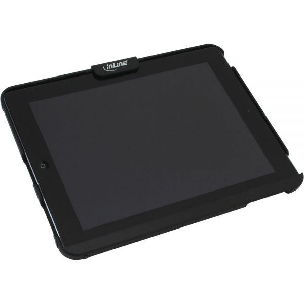 Inline supporto tablet ipad stand antitaccheggio lucchetto a chiave cavo acciaio 4 4mm x 2m - Porta ipad da tavolo ...